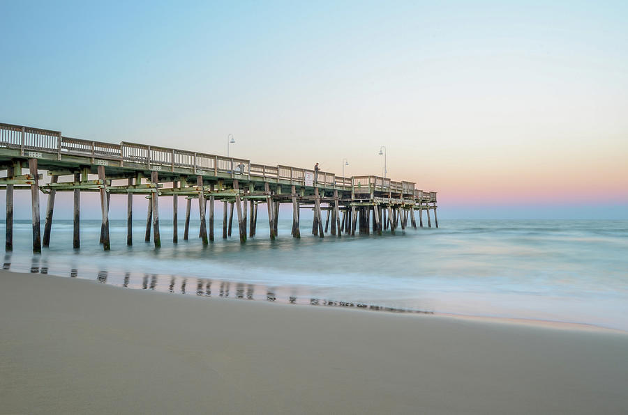 Virginia Beach Photograph - Evening Pastels by Mike OShell