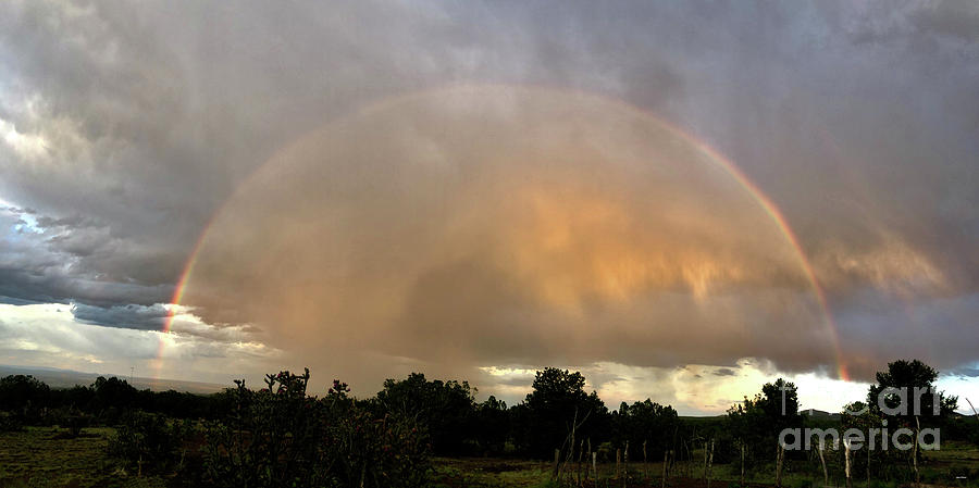 Evening Rainbow by Steven Natanson