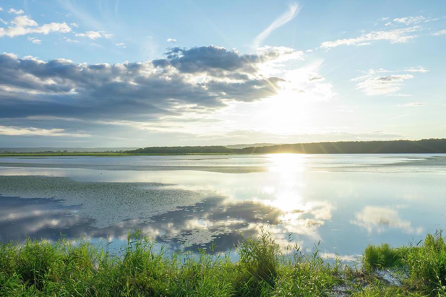 Evening Sky and Lake Shirarutoro - Hokkaido, Japan by Ellie Teramoto