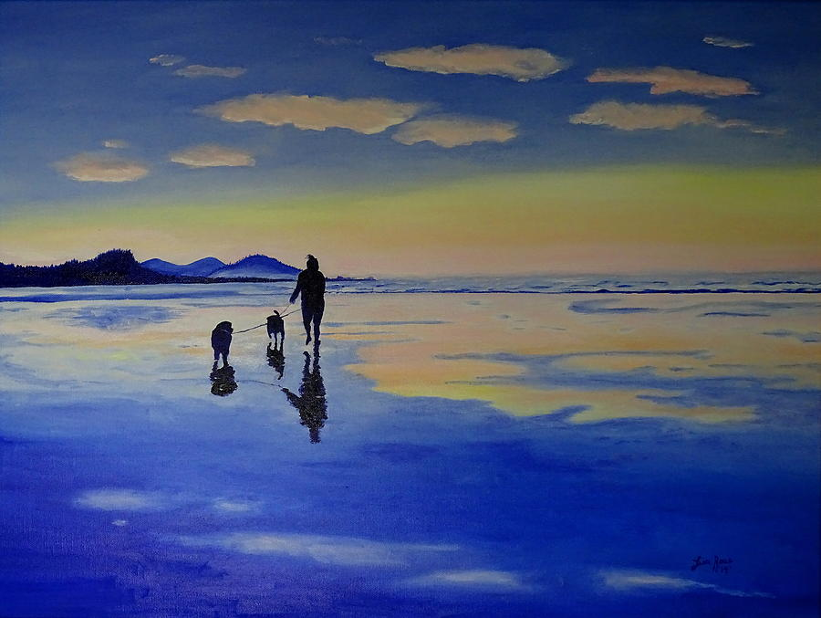Evening Stroll by Lisa Rose Musselwhite