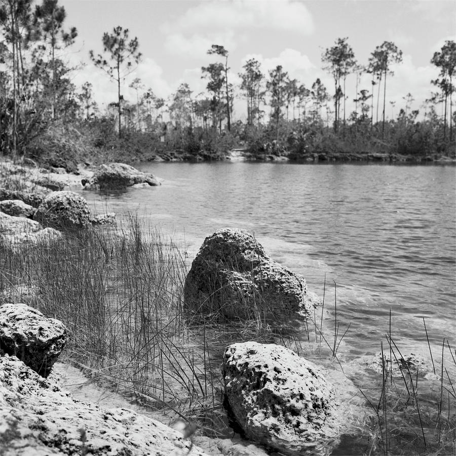 Everglades Lake 041902 by Rudy Umans
