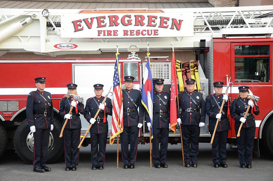 Evergreen Fire Rescue Honor Guard by Matt Swinden