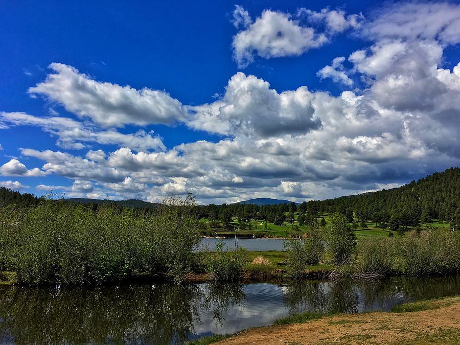 Evergreen Lake Island by Dan Miller