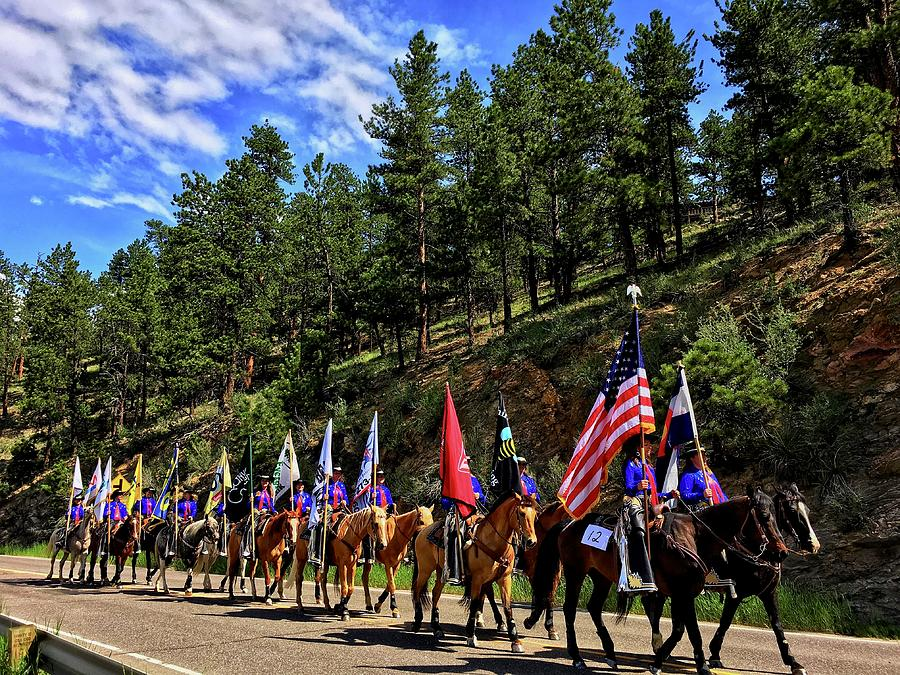 Evergreen Rodeo Parade by Dan Miller