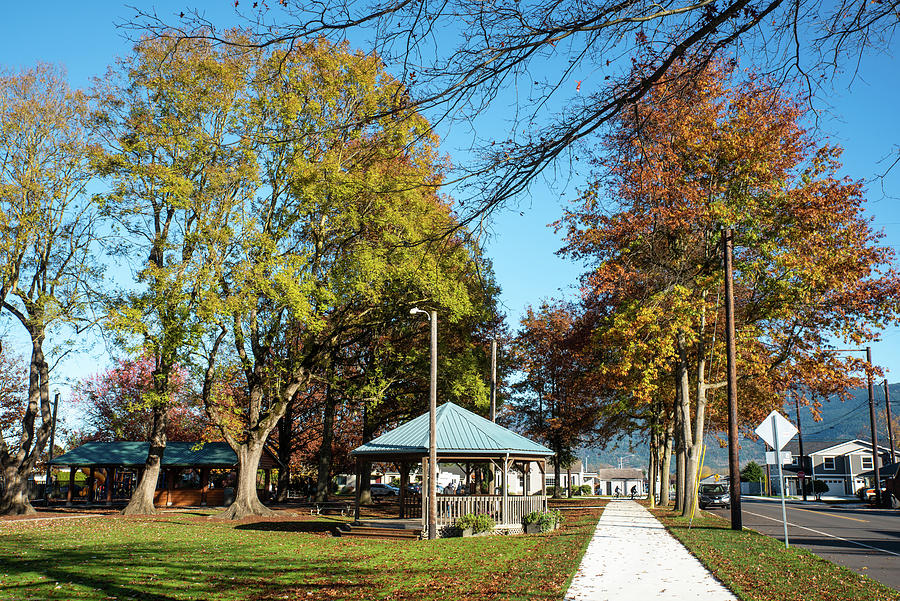 Everson Park on Lincoln Street by Tom Cochran