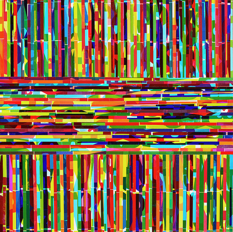 Abstract Mixed Media - Every Tribe Tongue And Nation by Color Bliss