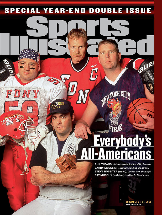 Everybodys All-americans Athletes Of The New York City Fire Sports Illustrated Cover Photograph by Sports Illustrated