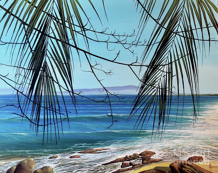 Beach Painting - Everythings Different Now by Hunter Jay