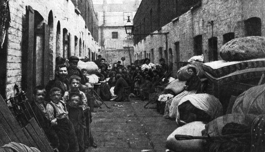 Evicted Photograph by Hulton Archive