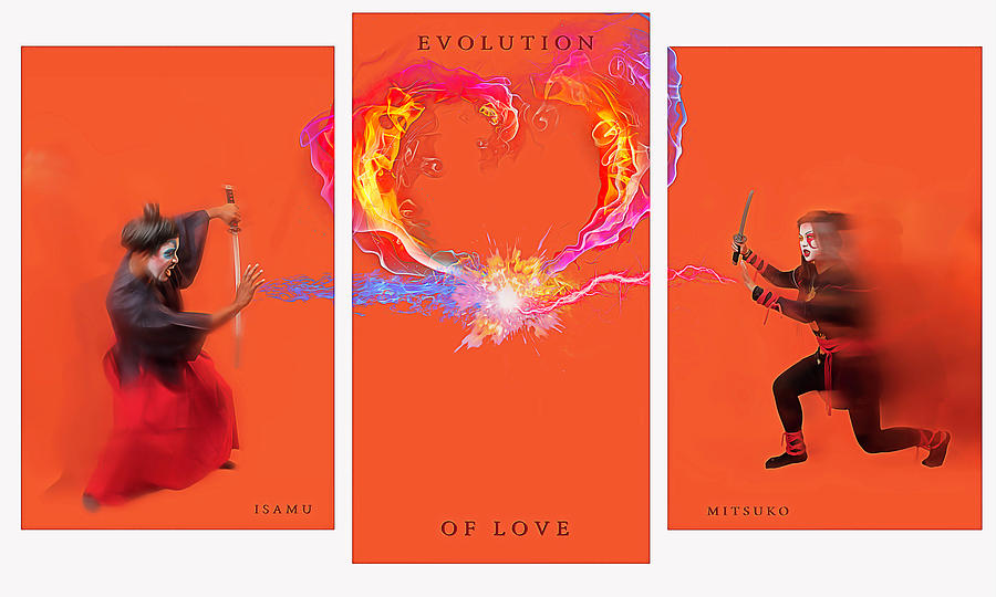 Evolution of Love- Hate- by JD Mims