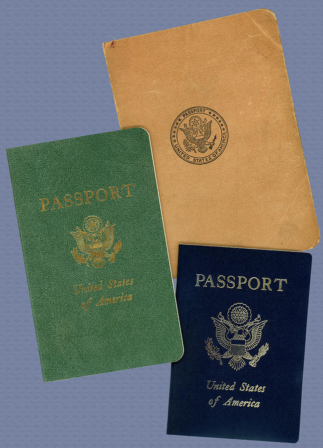 Evolution of United States Passport Covers in the 20th Century by Phil Cardamone