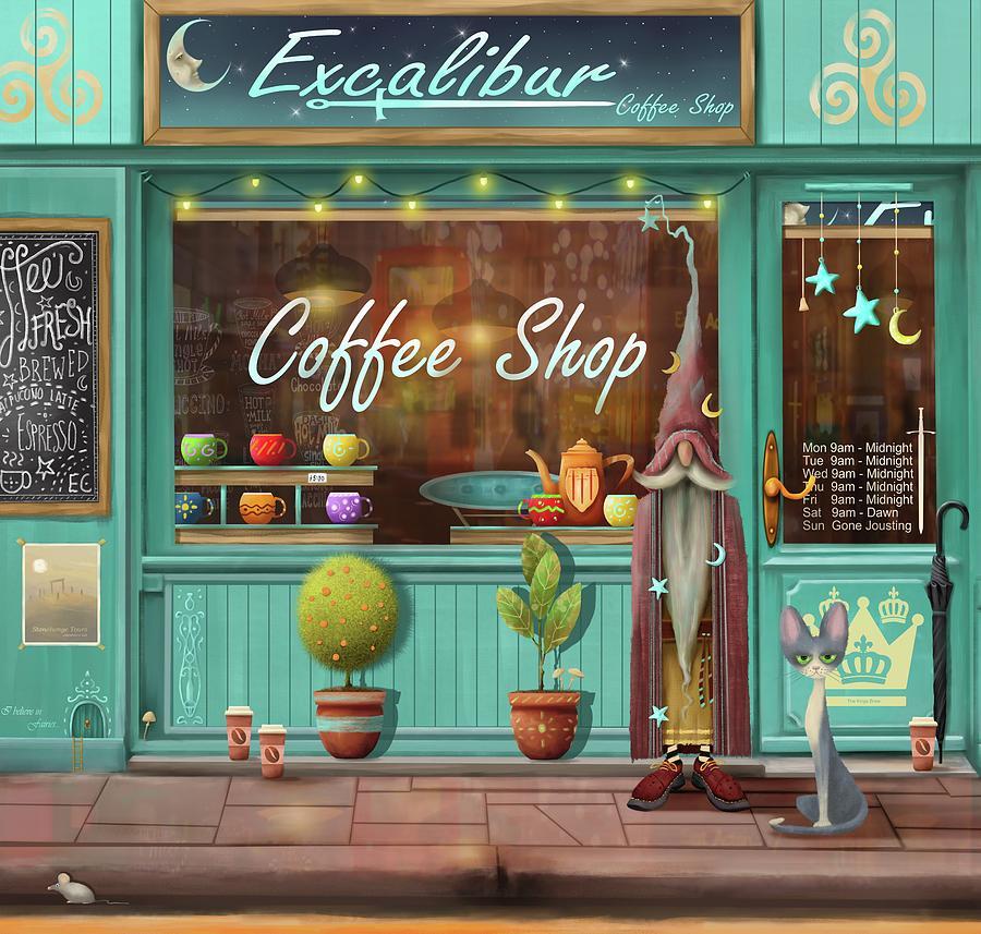 Excalibur Coffee Shop by Joe Gilronan