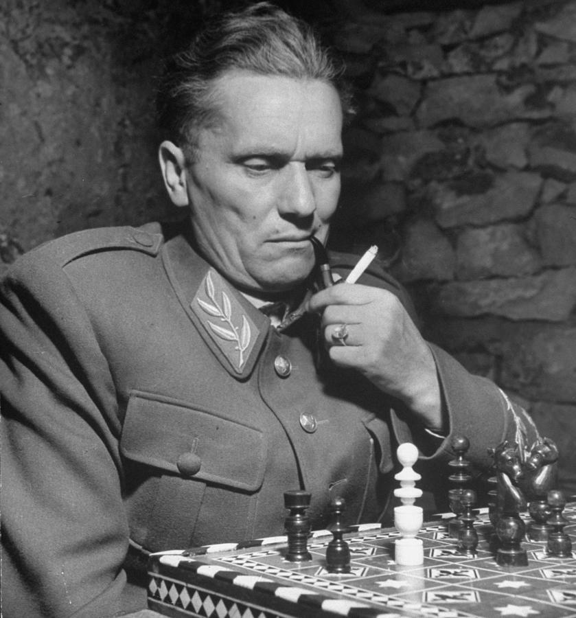 Excellent Portrait Of Josip Broz, Aka Photograph by John Phillips