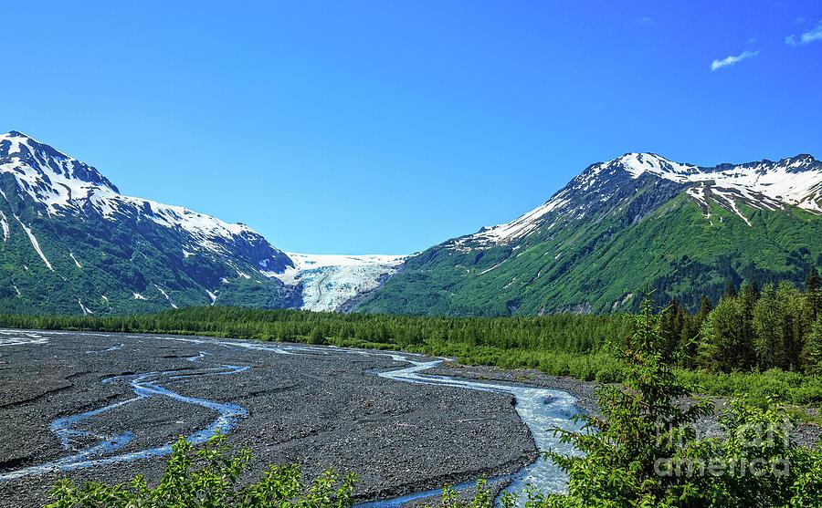 Nature Photograph - Exit Glacier by Robert Bales