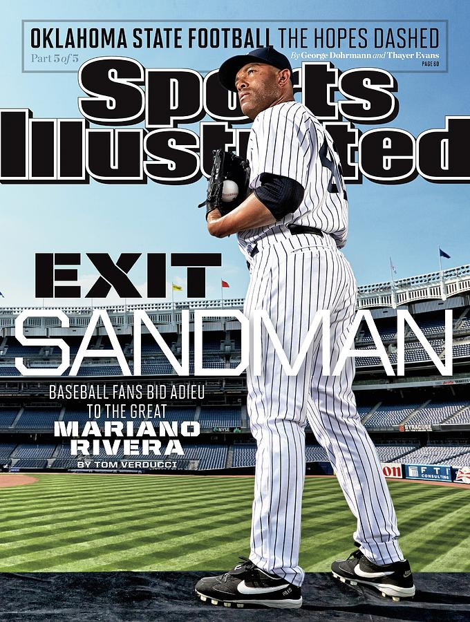 Exit Sandman Baseball Fans Bid Adieu To The Great Mariano Sports Illustrated Cover Photograph by Sports Illustrated