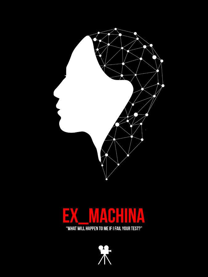 Movies Digital Art - Ex_machina by Naxart Studio