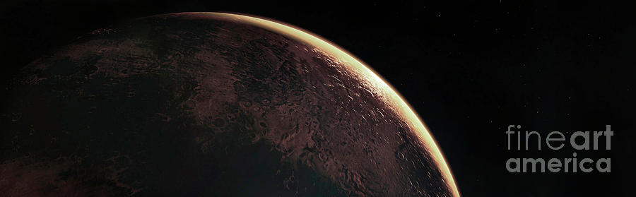 Exoplanet Photograph - Exoplanet L 98-59b by Nasas Goddard Space Flight Center/ravyn Cullor/science Photo Library