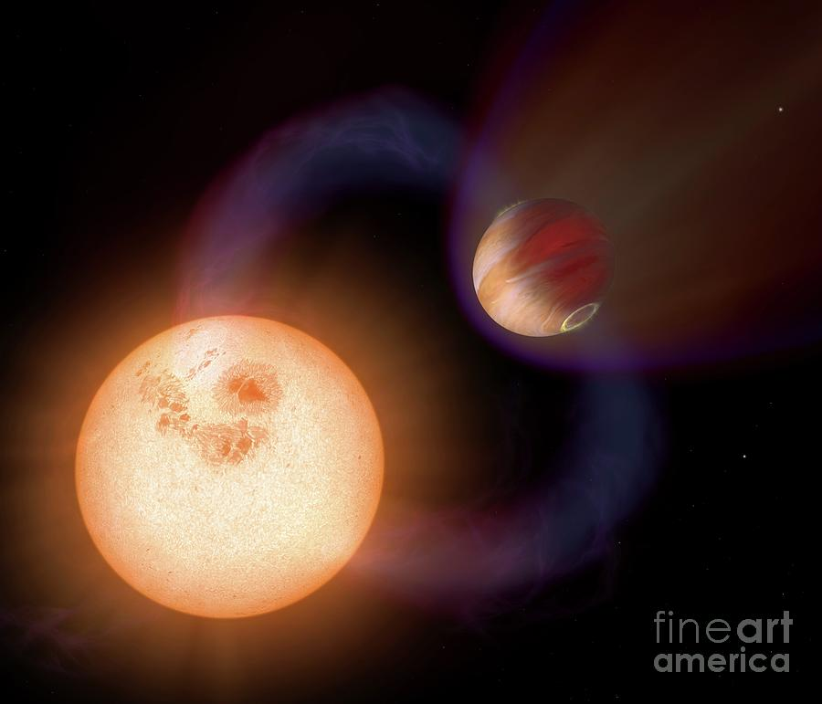 Astronomy Photograph - Exoplanet Sweeps-10 by Nasa/science Photo Library