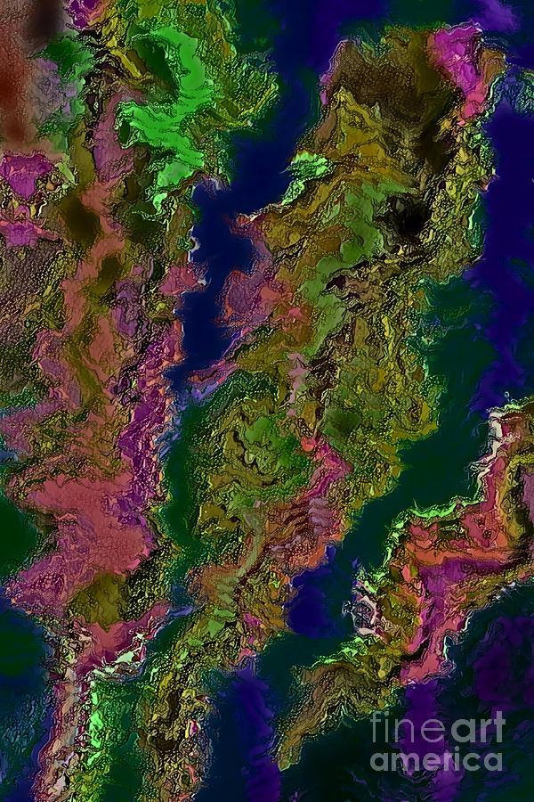 Exotic Terrain  by Rachel Hannah
