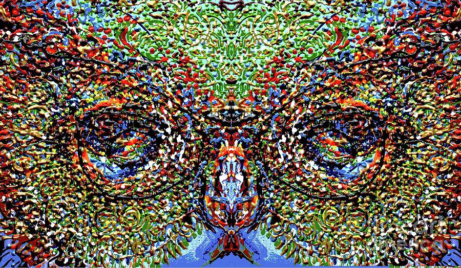 Experiment-owl by Cheryle Gannaway