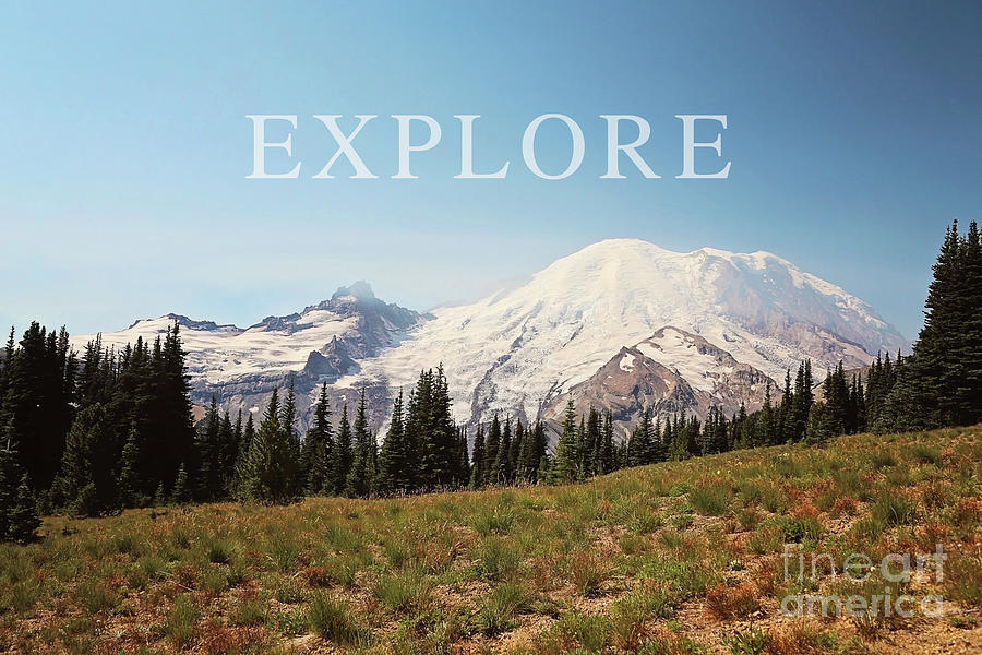 explore the mountains by Sylvia Cook