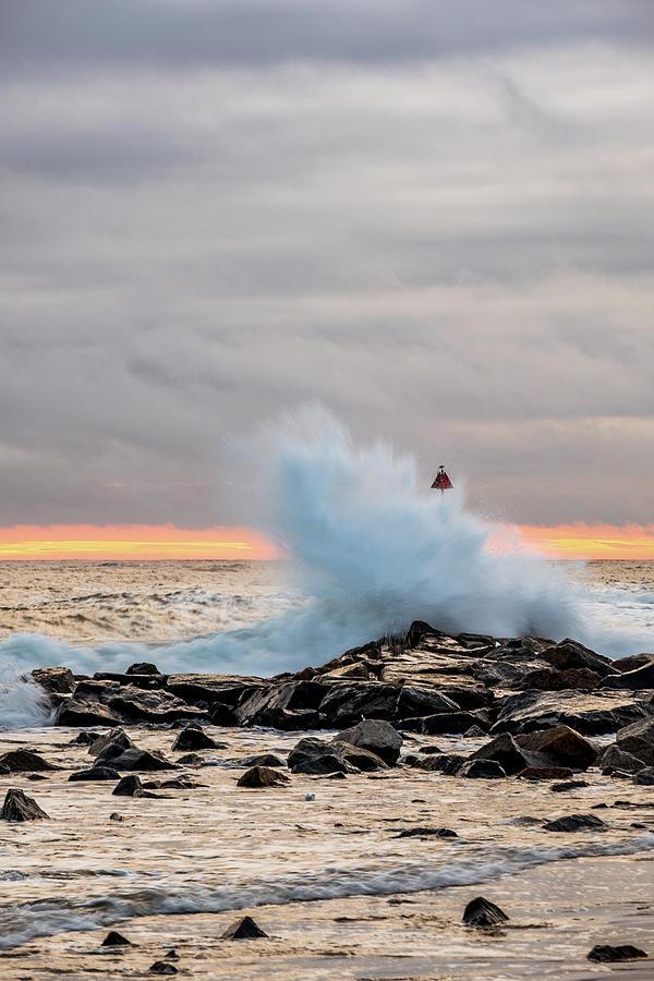 Explosive Sea 2 by Jeff Sinon