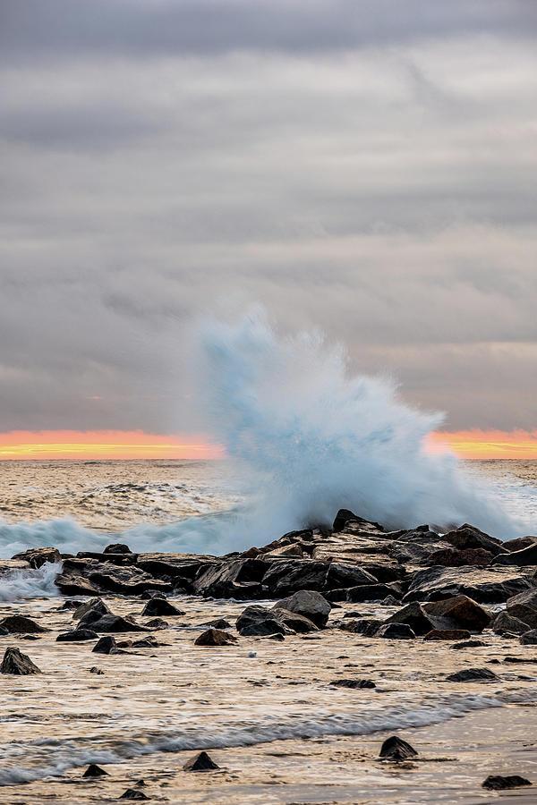 Explosive Sea 3 by Jeff Sinon