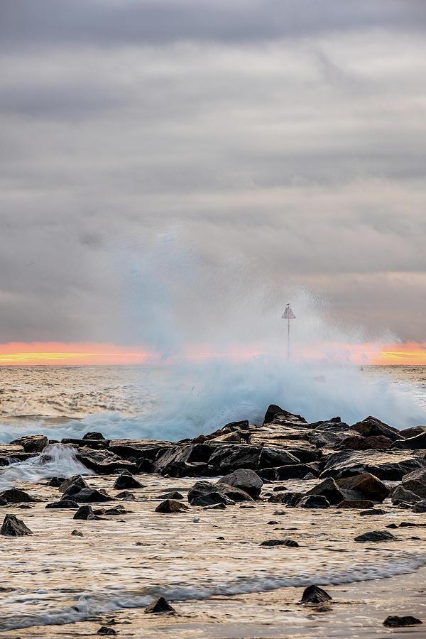Explosive sea 5 by Jeff Sinon
