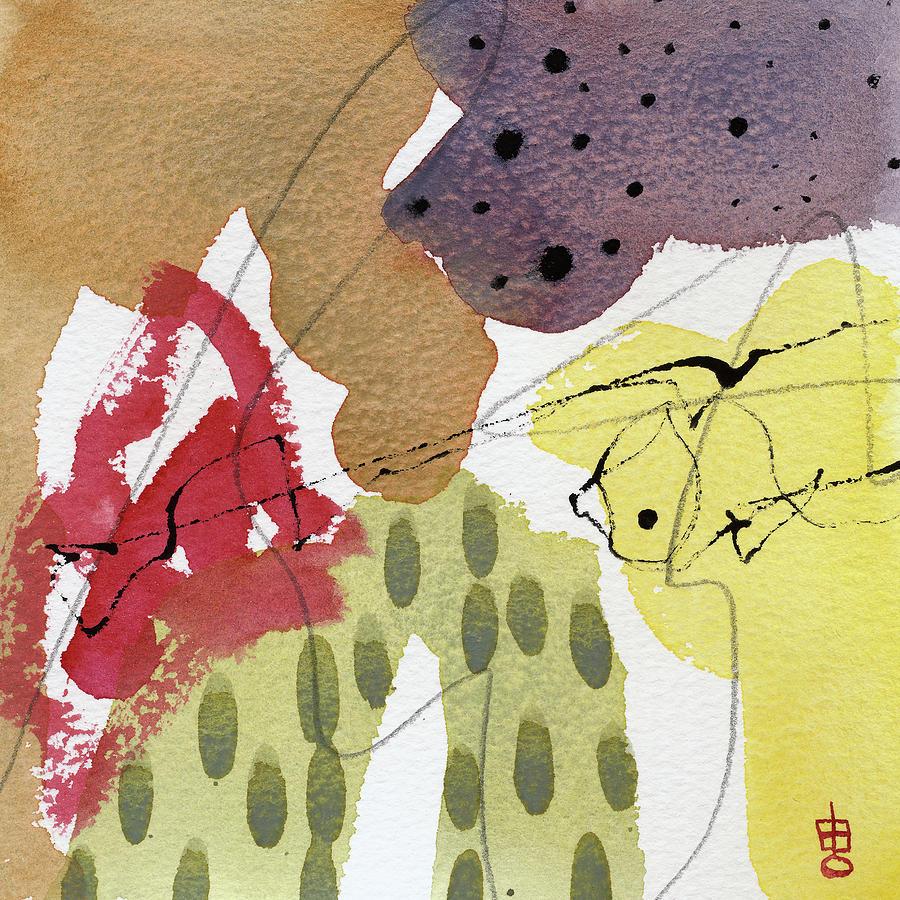 Expressions 9-12 by Lynda Hoffman-Snodgrass