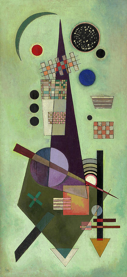 Extended Painting - Extended - Ausgedehnt by Wassily Kandinsky