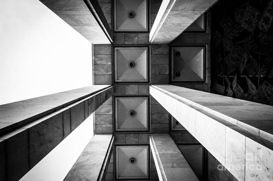 Pillars Photograph - Exterior Architecture Details Of The by Esb Professional