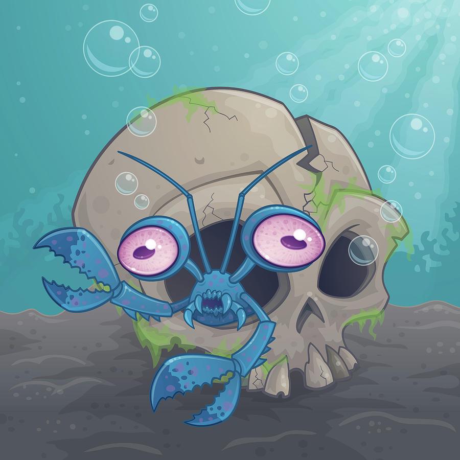 Eye Crustacea Digital Art