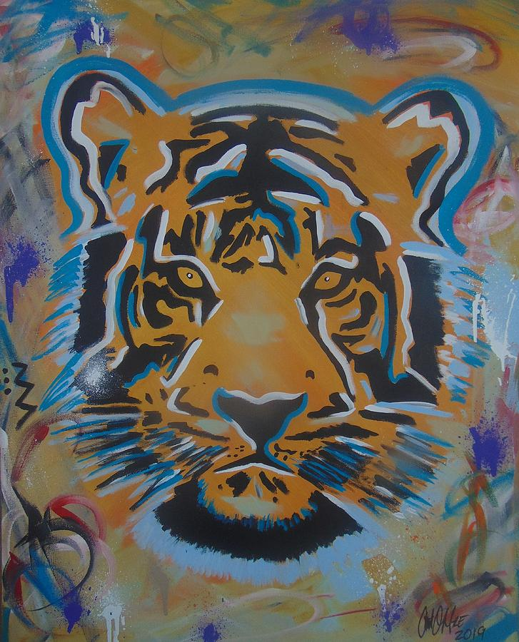Eye of the Big Tiger by Antonio Moore