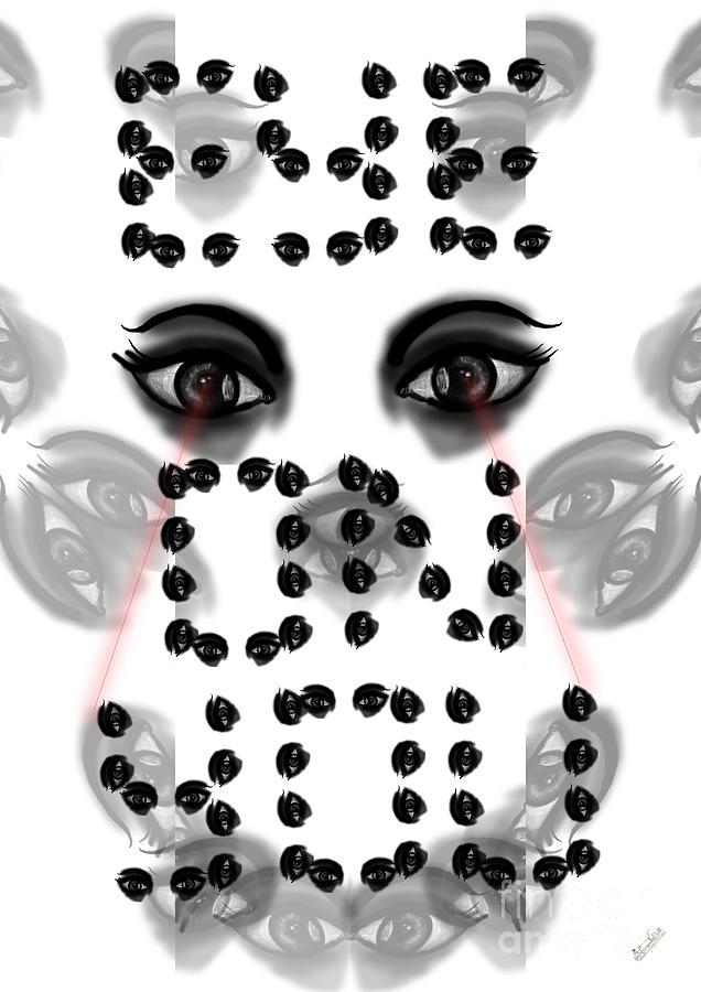 Eye On You Digital Art