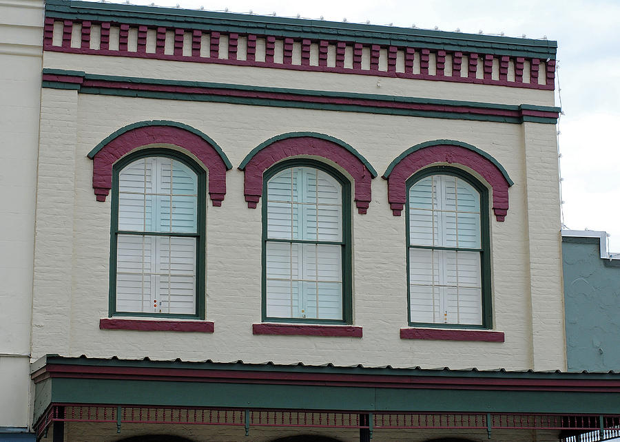 Eyebrow Windows in Bellville Texas by Connie Fox