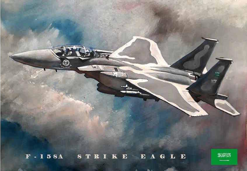 F-15SA STRIKE EAGLE by Eric Shelton