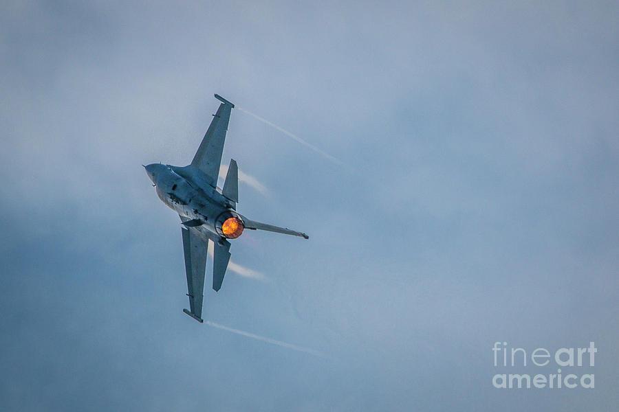 F-16 Turn and Burn by Tom Claud