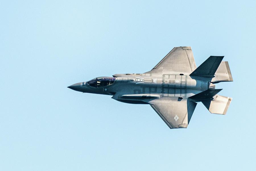 F-35 Lightning II by Randy Scherkenbach