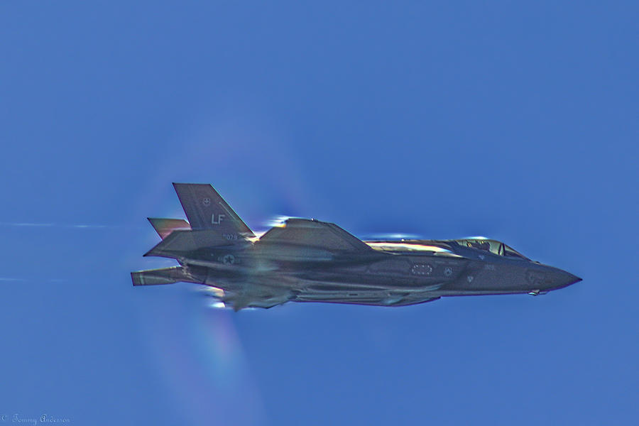 F-35 Punching Through by Tommy Anderson