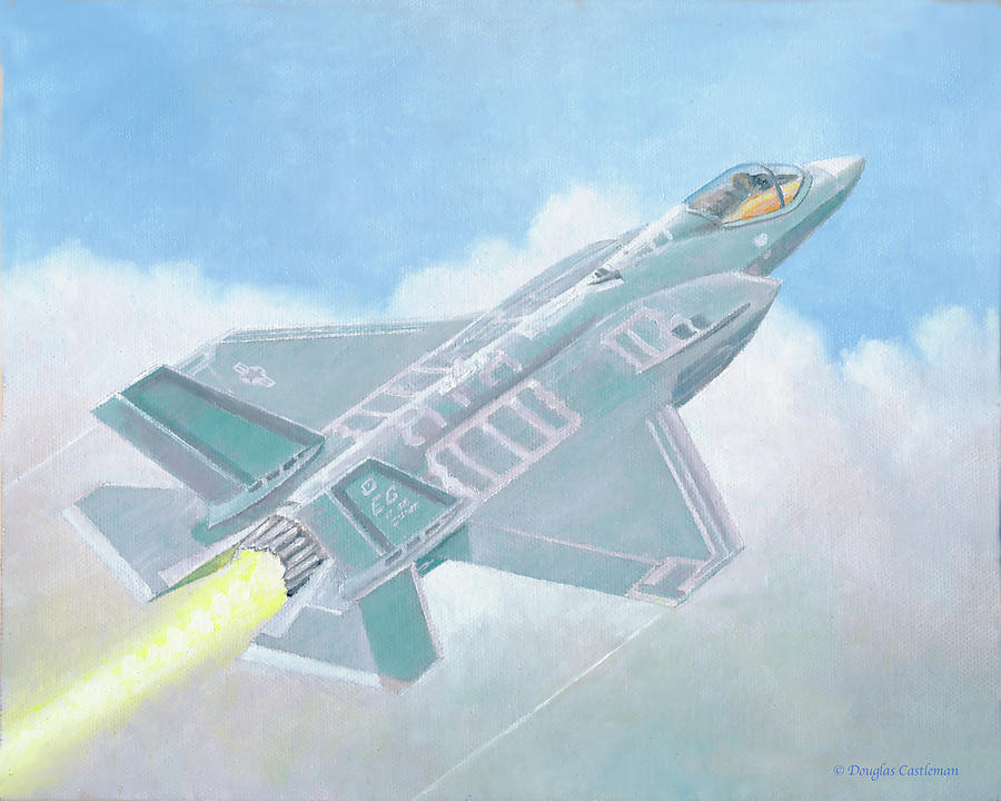 F-35A by Douglas Castleman