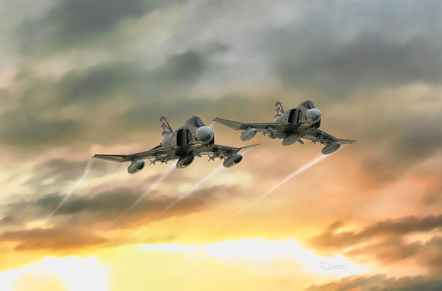 F-4N Phantom II by David Luebbert