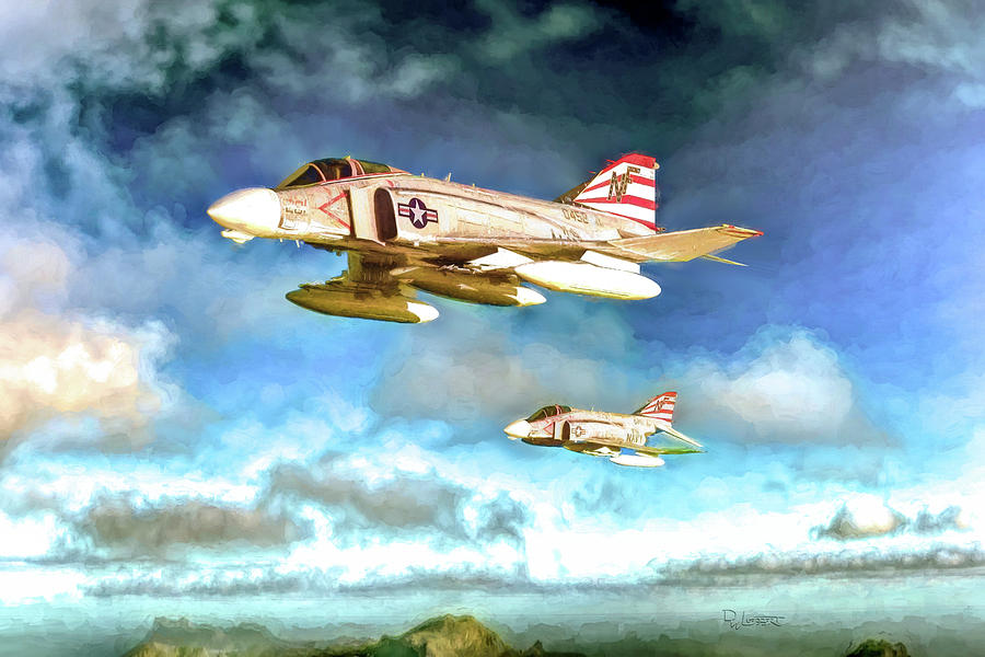 F-4N Phantom II Painted by David Luebbert