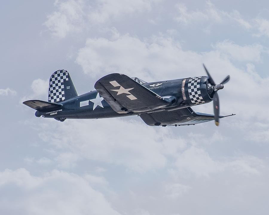 F-4 U Corsair 02 Photograph by Robert Hayes