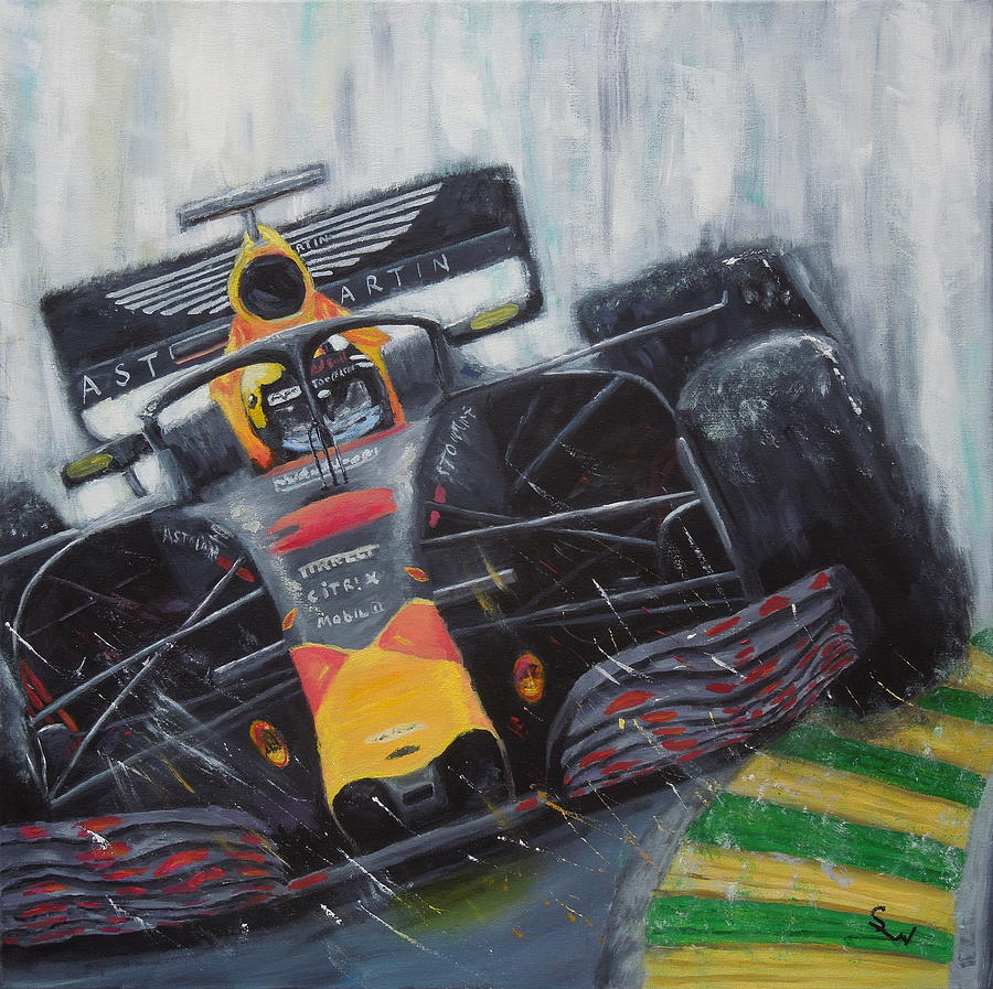 F1 Action by Shirley Wellstead