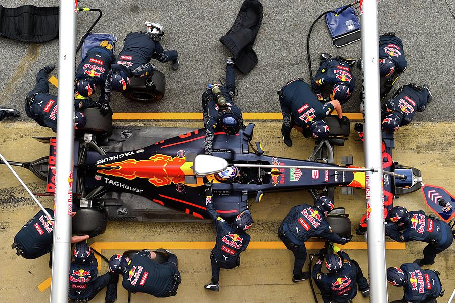 F1 Testing In Barcelona - Day Two Photograph by David Ramos