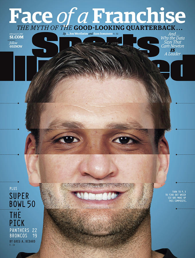 Face Of A Franchise The Myth Of The Good-looking Quarterback Sports Illustrated Cover Photograph by Sports Illustrated