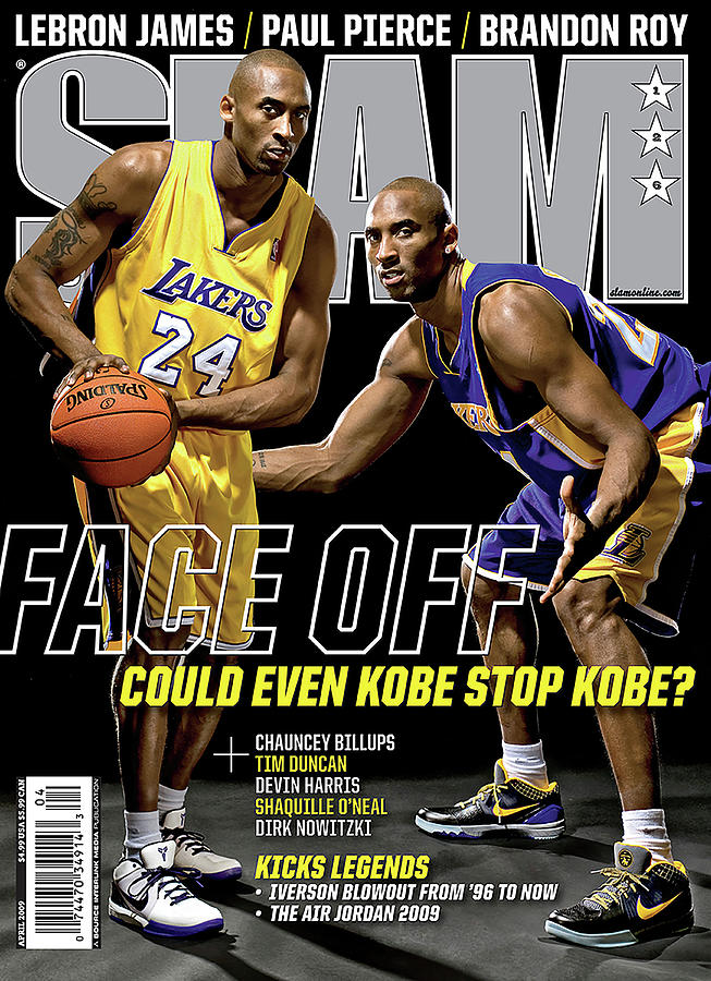 Face Off: Could Even Kobe Stop Kobe? SLAM Cover Photograph by Atiba Jefferson