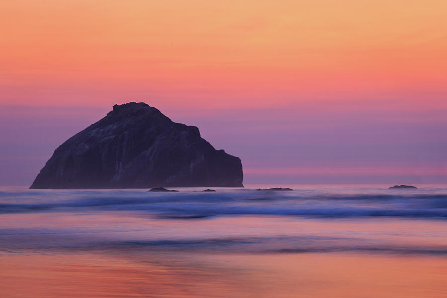 Face Rock At Bandon by James Eddy