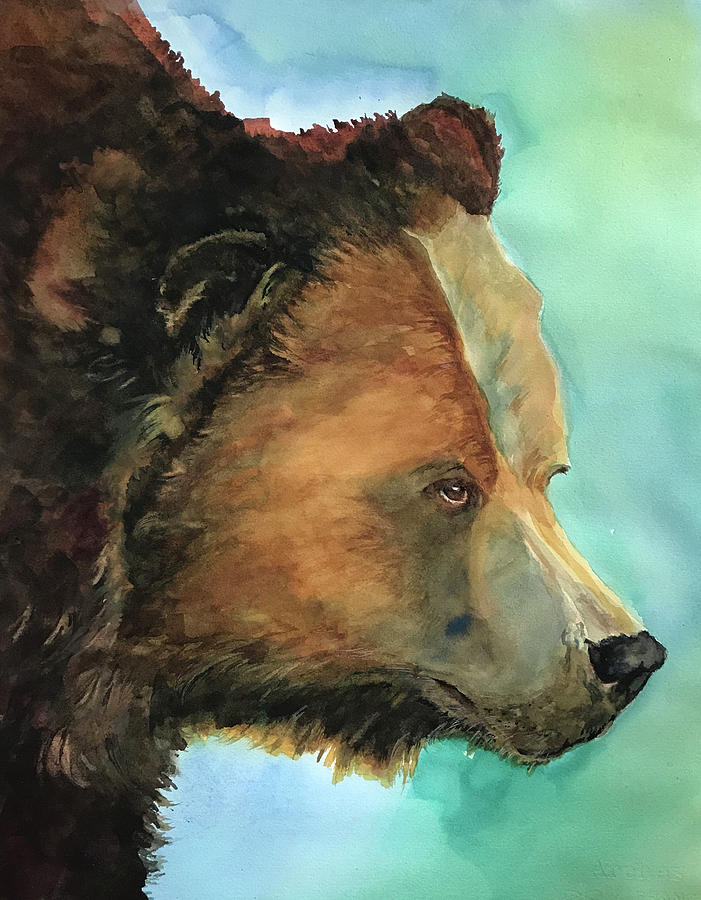 Face to Face Bear by Joan Chlarson