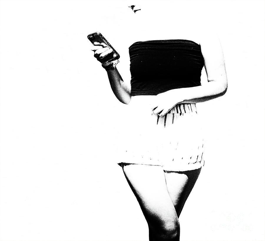 Beautiful Women Photograph - Faceless Time by Steven Digman